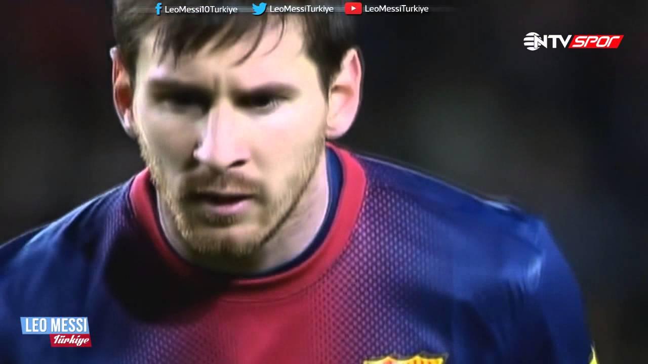Leo Messi'nin, Osasuna'ya Attığı 4 Gol ► Türkçe Spiker ● 2013