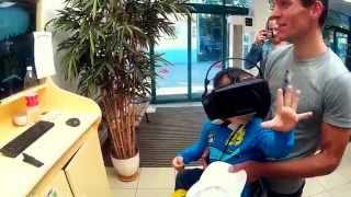 Чистая и непосредственная реакция ребенка Аттракцион виртуальной реальности Пермь(, 2015-08-04T16:57:47.000Z)