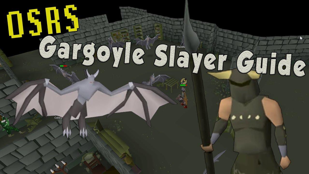 OSRS Gargoyle Slayer Guide 2017 - Everything You Need to Know about  Gargoyles