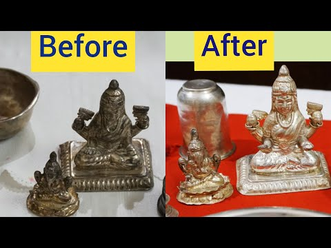 How to Clean and Polish Silver Items at Home ? Cheapest way to Clean Silver Items |