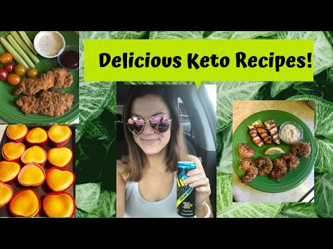 delicious-keto-recipes:-crispy-chicken-tenders,-coconut-shrimp,-poppers-&-banana-custard-muffins