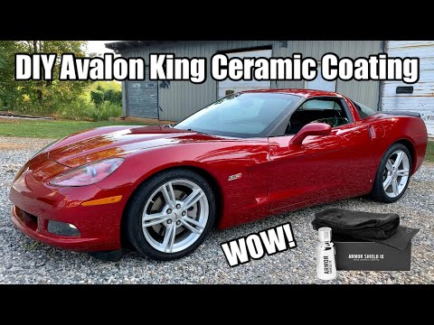 DIY Armor Shield IX Ceramic Coating - C6 Corvette LS3