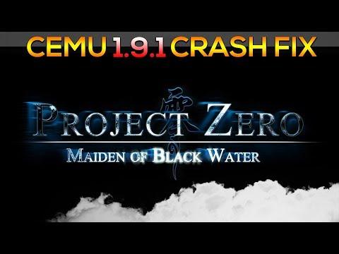 Cemu 1 9 1 | Fatal Frame 5 | CRASH FIX! - YouTube