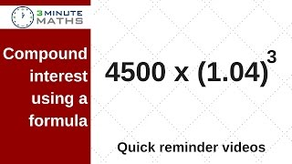 How To Calculate Compound Interest Using A Formula