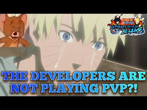 THE DEVELOPERS ARE NOT PLAYING NINJA WORLD CLASH?!?!