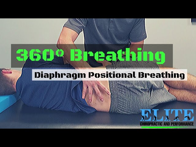 360° Breathing | Diaphragm Positional Breathing | Chesterfield Chiro