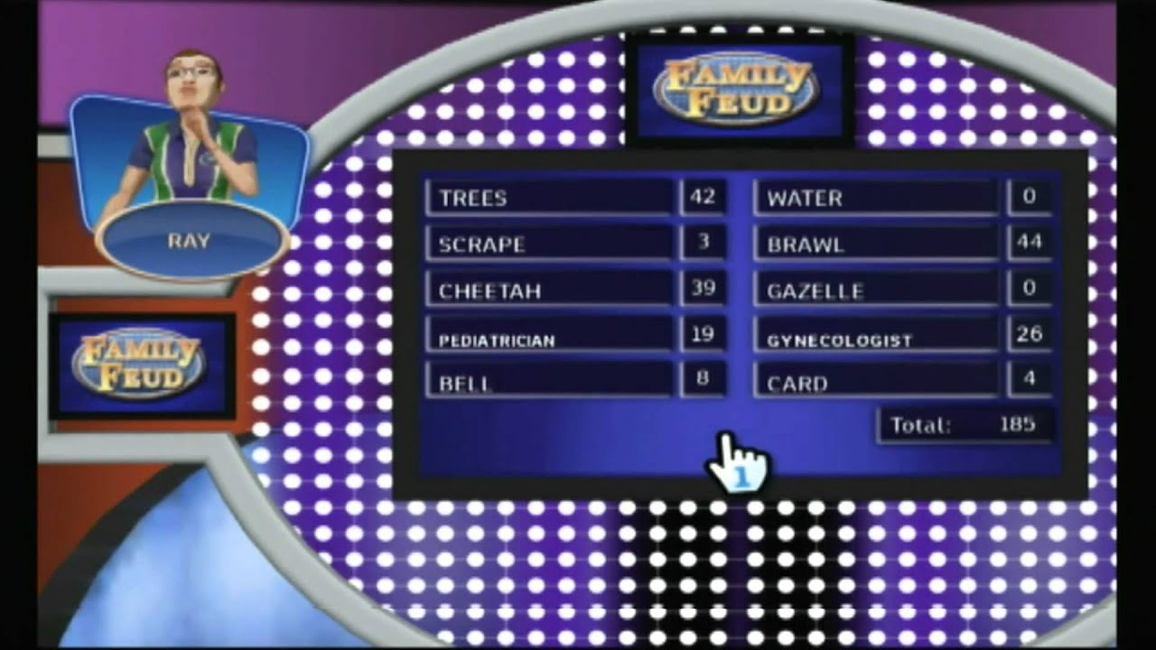 family feud video game wii
