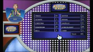 CGR Undertow - FAMILY FEUD 2010 for Nintendo Wii Video Game Review