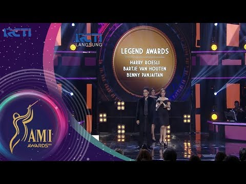 Harry Roesli - Bartje Van Houten - Benny Panjaitan - Legend Awards   AMI AWARDS 20th
