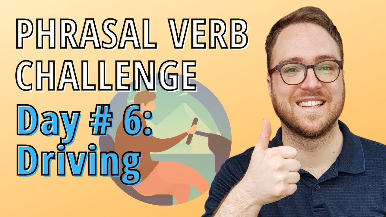 🚗 Let's Learn English Phrasal Verbs about driving-  Pull Over!