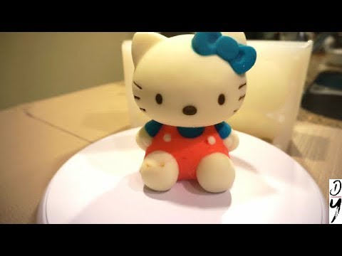 Hello Kitty Mousse Cake Made by Silicon Mold YouTube