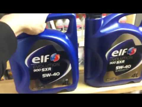 Как определить подделку масла эльф