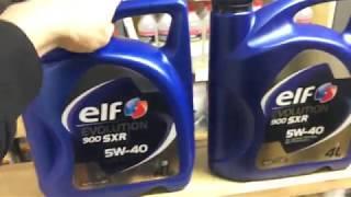 Моторное масло Elf (как отличить подделку)