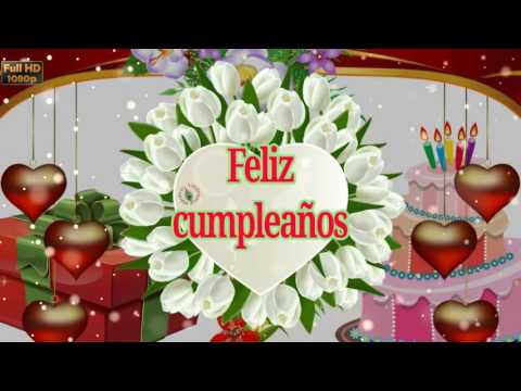 Birthday Wishes in Spanish Greetings Messages Ecard Animation – Spanish Birthday Greeting