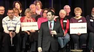 Marco Holds A Packed Town Hall In Okatie, South Carolina | Marco Rubio for President