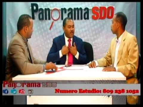 Panorama S D O 19 09 14 - Con el Viceprecidente del PTD Francisco Luciano