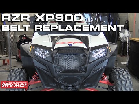 Polaris RZR XP 900 Drive Belt Change