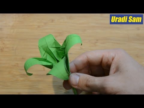Kako napraviti CVET od papira? / KREATIVNA RADIONICA #2