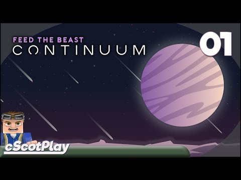 FTB Continuum w/ cScot : Ep 01 – Getting Started - VOD Replay