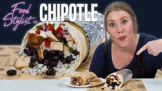 Why Chipotle Burritos Look So Good on TV | Photo Worthy Food | Food Stylist Tips |