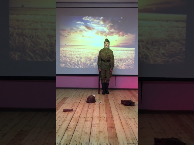 Изображение предпросмотра прочтения – МаркКатухов читает произведение «Утро победы» А.А.Суркова