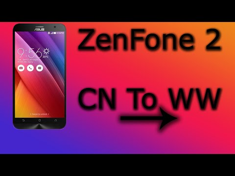 Zenfone2 How to change fimware from CN/TW to WW (no Google Play Store how to fix)