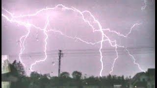 Najsilniejsza burza sezonu 2018! (Niesamowity Stroboskop, CG Show) (29.04.2018) / Lubartów