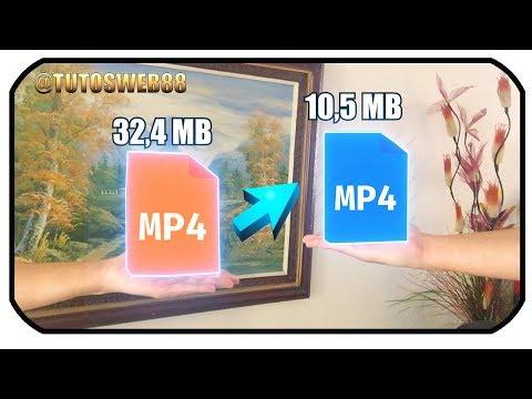 Convertir y reducir peso a videos sin perder calidad