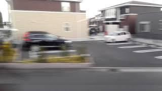 【JR九州】713系0番台JR日豊本線日向住吉→佐土原間進行方向右側車窓(警笛複数)