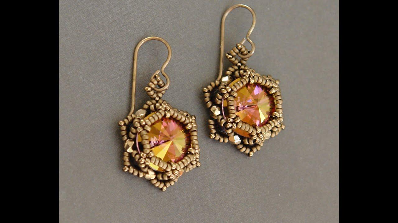 Sidonia S Handmade Jewelry Sunset Glare Beaded