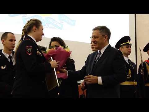 Праздничная церемония награждения сотрудников УВД по СВАО