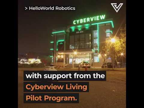 (#FightCOVID19) HelloWorld Robotics Featured by Vulcan Post