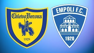 Chievo verona vs empoli full match - serie a 2018/19 gameplay