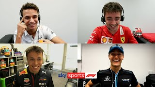 Norris, Russell, Leclerc & Albon compete in hilarious F1 quiz! | The Twitch Quartet Quiz