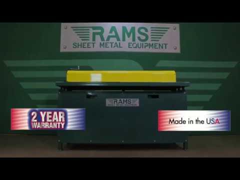 RAMS Duct Beader - HVAC Machinery