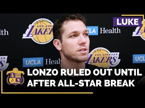 Lakers Head Coach Luke Walton Rules Out Lonzo Ball Until After All-Star Game