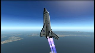 X-Plane 11 - How to get the Space Shuttle engines working