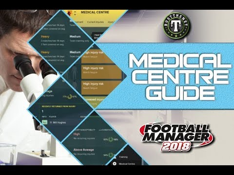 FM18 | Understanding The Medical Centre | Football Manager 2018