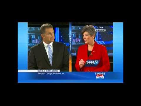 2014 Iowa Senate Debate: Who's Working for the Biggest 'Billionaire'?