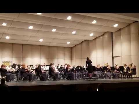 Williamston High School Band Performs at 2019 District Band Festival
