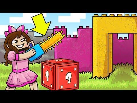 Minecraft: LEGOS LUCKY BLOCK MOD! (BUILDING BLOCKS, LEGO WEAPONS, & MORE!) Mod Showcase