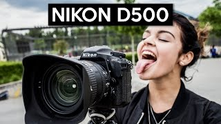 NIKON D500 | a stunning 4K video camera | hands on | english review from Frankfurt/Germany