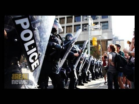G20: IS THERE A RIGHT TO PROTEST?