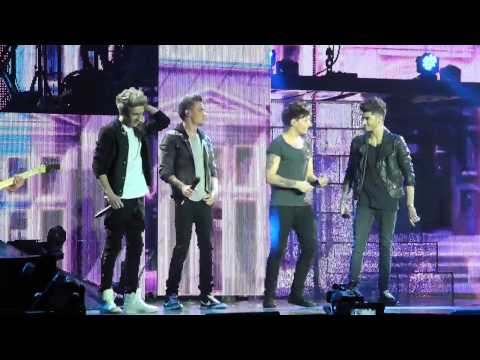 One Direction - 'Up All Night' in Hamburg 05/12/13