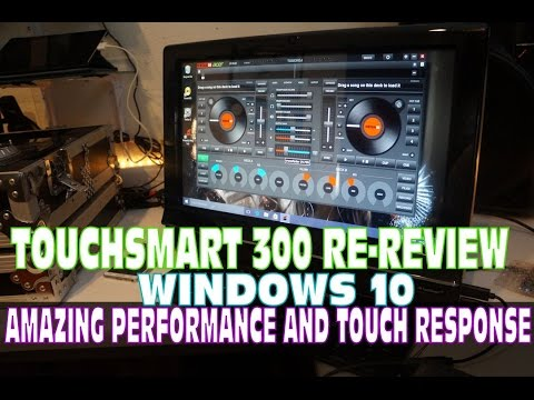 HP TouchSmart 300 Re-Review Windows 10 (Incredible Machine) 2015