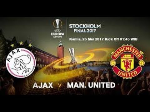 Hasil Pertandingan Ajak Vs Manchester United Final Liga Eropa