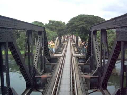 The Bridge of the River Kwai. World War II.