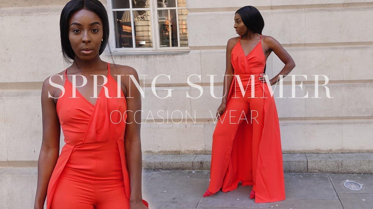 Spring Summer Lookbook   2018 OCCASION DRESSES   ASOS 2