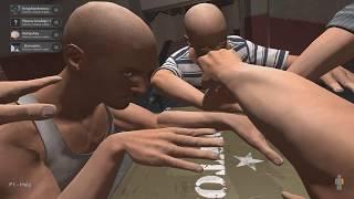 4 ЛЫСЫХ МУЖИКА(АИД, ПОЗЗИ, АЛЬБЕРТ И ДЕМАСТЕР) ПЫТАЮТСЯ РАЗМИНИРОВАТЬ БОМБУ!! Hand Simulator