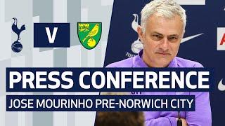 PRESS CONFERENCE | JOSE MOURINHO PRE-NORWICH CITY